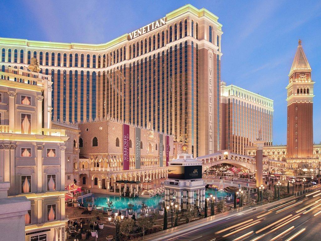 โรงแรมเวเนเชียน รีสอร์ท คาสิโน The Venetian Resort ลาสเวกัส