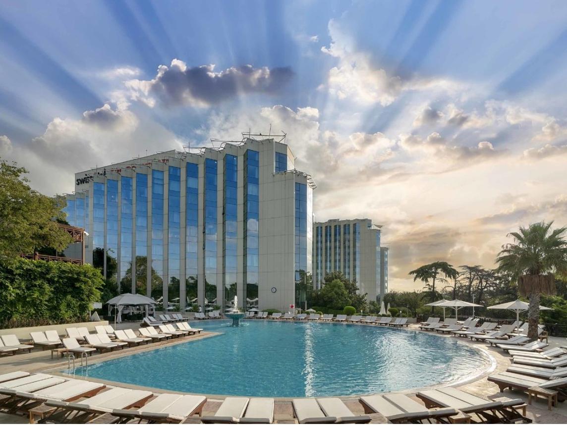 โรงแรมสวิสโซเทล เดอะบอสฟอรัส Swissotel The Bosphorus, Istanbul
